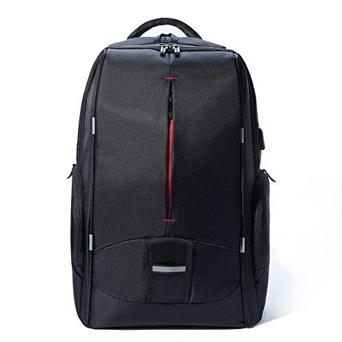 KALIDI Mochila para laptop de hasta 17,3