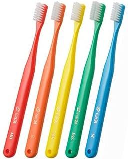 オーラルケア タフト24 一般成人用 3列歯ブラシ 10本セット MS(ミディアムソフト) ホワイト