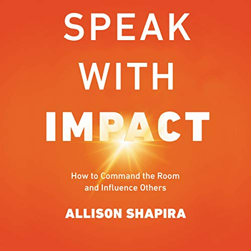 Speak with Impact audiobook cover art