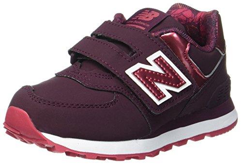 New Balance New Balance, Unisex-Kinder Sneaker, Rot (Burgundy), 33.5 EU (1.5 UK)