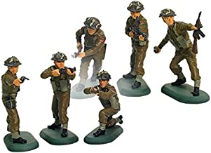 New Britains Super Deetail Toy Soldiers WWII British Infantry 54mm Collectible Figures Set of 6