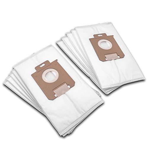 vhbw 10 bolsas para aspiradora vellón micro/cartón Philips HR 6999, HR 8300-8349 - Expression, HR 8350-8367 - Impact