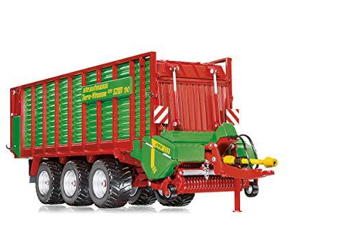 WIKING 077336 Strautmann Tera-Vitesse Ladewagen, Modell, 1:32, Metall/Kunststoff, Ab 14 Jahre, Viele Funktionen, Streuerwalzen und Pick-Up mit drehbarer Walze jeweils beweglich