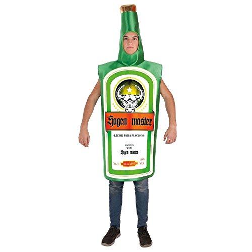 Zzcostumes LLOPIS Kostüm Erwachsenen Flasche Jungen Meister