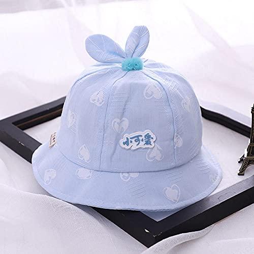 MIBQM Unisex Bebé de Verano Sombrero de Sombrero de Sombrero bebé Pescador de bebé 6-24 Meses-D