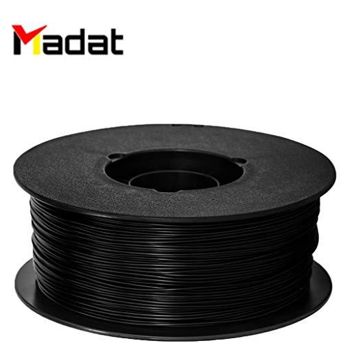 Madat FlashForge ABS-Filament 1,75 mm (1 kg) für 3D-Drucker der Creator-Serie (Pro, X, Wood) (Rote)