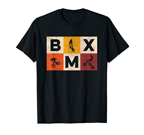 Bicycle Tricks | Freestyle Motocross | Retro BMX Bike T-Shirt