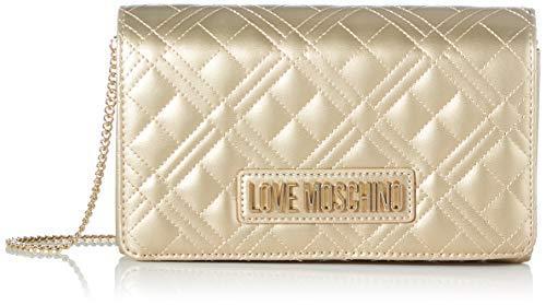 Love Moschino JC4261PP0BKA0, Borsa A Spalla Donna, Oro, Normale