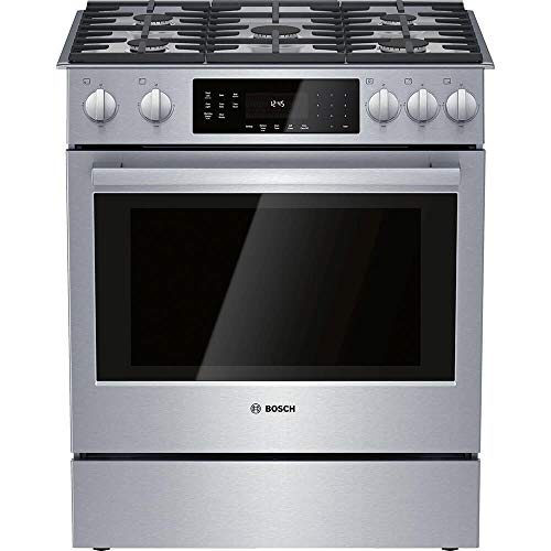 Bosch HGI8056UC 4.8 Cu.Ft. Stainless Gas Slide-in Range