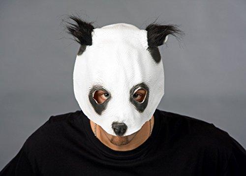 Maske für Erwachsene Pandabär