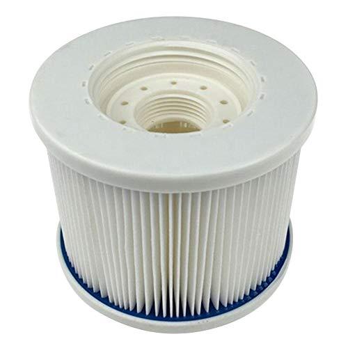 Yingkou 精製水の品質耐久性のあるスパプールフィルターアクセサリプール清掃ツールABS用インフレータブルプールフィルター (Color : 白, Size : フリー)