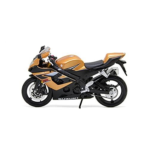 El Maquetas Coche Motocross Fantastico 1:12 para Suzuki GSX-R1000 Simulación De Aleación Modelo De Motocicleta Decoración Miniatura Colección De Regalo De Juguete Regalos Juegos Mas Vendidos