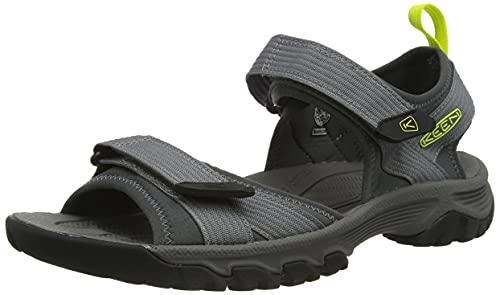 KEEN Targhee 3 H2 Sport-Sandalen mit offener Zehenpartie, Stahlgrau/Nachtkerze, Größe 43