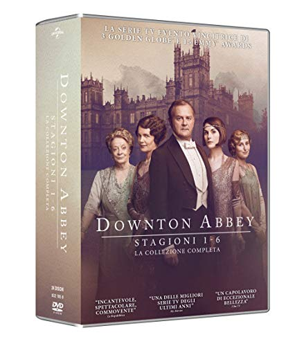 Downton Abbey Coll. Comp.St.1-6 Gold Edit.(Box 24 Dv)