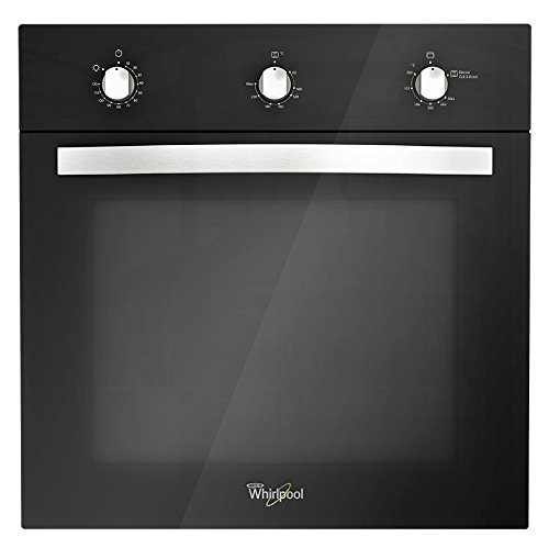 Whirlpool WOA105F Horno Empotrable de Gas de 60cm (24'), color Neg