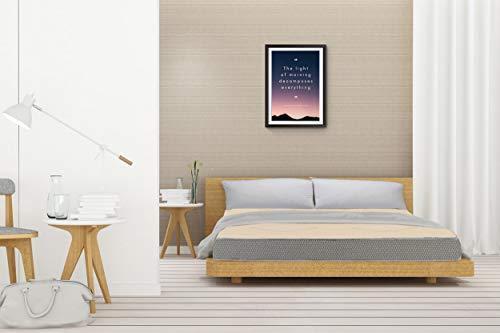 SLEEPSPA Orthopaedic Dual Comfort Mattress- Hard and Soft 5 inch Queen High Resilience (HR) Foam Mattress (Beige,72x60x5)