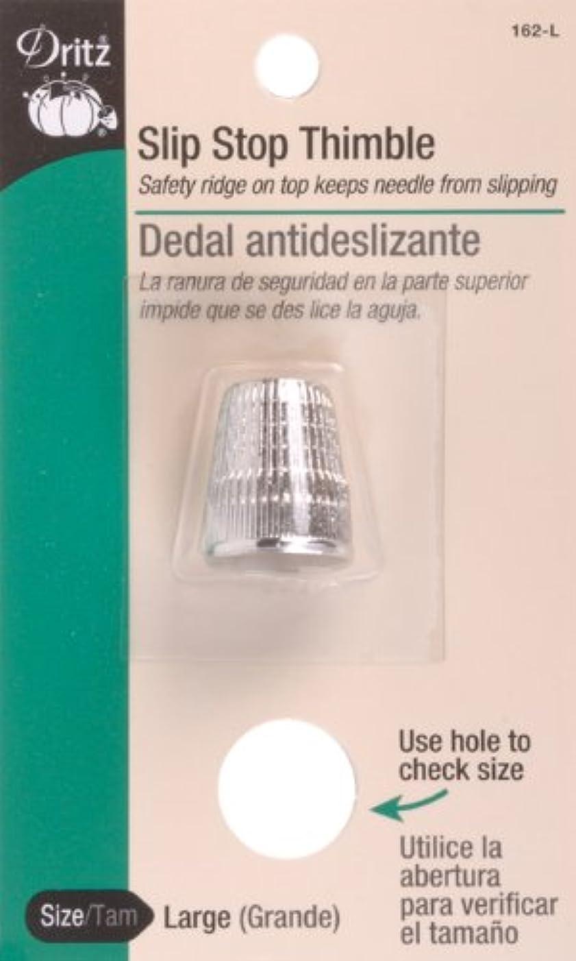 Dritz 162-L Slip Stop Thimble, Size Large