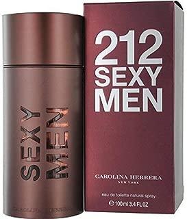 212 Sexy By: Carolina Herrera 3.4 oz EDT, Men's