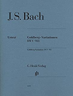 Goldberg Variations Bwv 988 Piano Edition Without Fingering