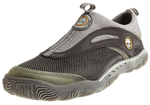 Timberland Damen Slipper Leder Nylon Plunge Slip-On 12640 Trekking Mädchen Farbe Black, Schuhgröße 40
