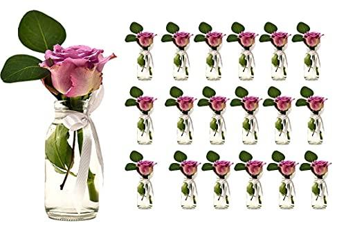 Jarrones Cristal Pequeños Para Flores jarrones cristal  Marca casavetro