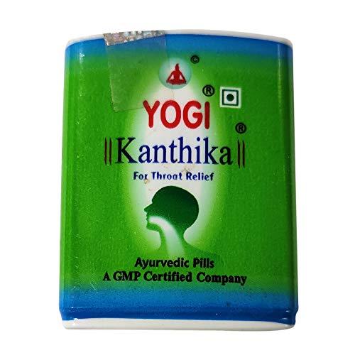 Ayush Yogi Kanthika for Throat Relief 70 pills x Pack of 4