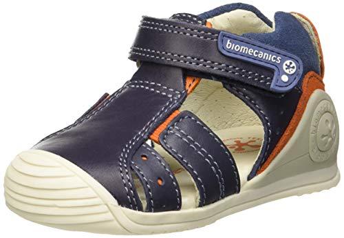 Biomecanics 192132, Sandales Plateforme, Bleu (Petroleo (Kaiser) Paprika), 22 EU