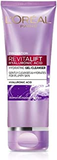 L'Oréal Paris Revitalift Hyaluronic Acid Hydrating Gel Cleanser, 100 ml   Gentle Facewash for women   Cleanses impurities...