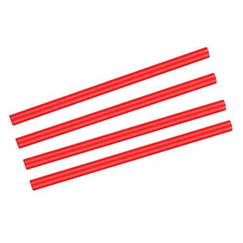 BESPORTBLE Silicona Tubo de Vacío Manguera de Alta Temperatura Antideslizante Estufa Patas Cubiertas Mangueras Camping Suministros para Camping Aire Libre Senderismo Rojo de Cocina 4