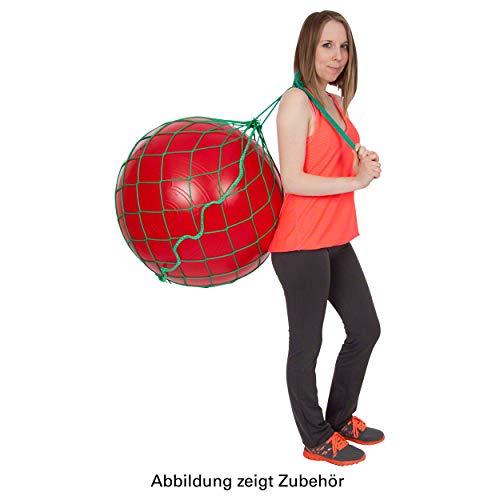 Sport-Tec Ballnetz für 1 Gymnastikball Aufbewahrungshilfe Transporttasche Aufhängung GRÜN