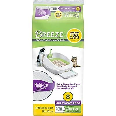Cat Litter Purina Tidy Cats Breeze Litter System Cat Pad Refills