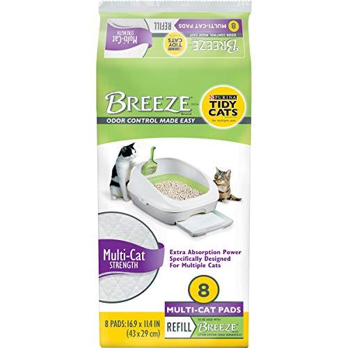 breeze litter box pads - 2