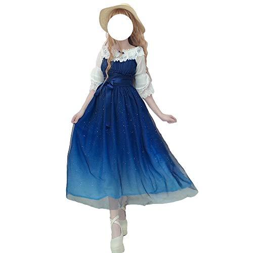 Himifashion Lolita Kleider Strawberry Jumper Polyester Kleid (S)