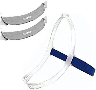 Headgear with soft wrap for Swift FX Nano or Nano,  Gray Color