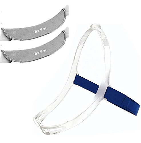 Headgear with soft wrap for Swift FX Nano or Nano, Gray Color