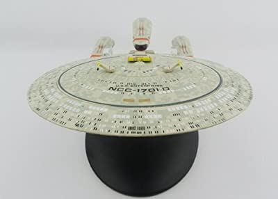 Star Trek: The Next Generation Future USS Enterprise Ncc-1701-D Model (All Good Things) Die-cast Starship Collection by Star Trek The Next Generation TNG from various