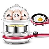 Cuoci Uova Sode Cuociuova Elettrico Bollitore per Uova Automatico Capacità 14...