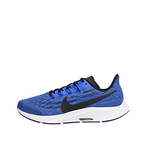Nike Air Zoom Pegasus 36, Zapatillas de Trail Running Unisex Adulto, Multicolor (Racer Blue/Black/White 400), 38 EU