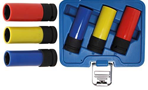 BGS 7300 | Juego de vasos de impacto con protector de plástico...
