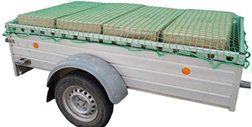 Anhängernetz mit Expanderband 1,60 x 2,50 mm