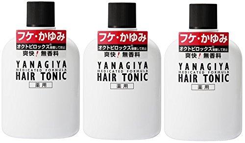 柳屋 薬用ヘアトニック フケ・カユミ用240ml (3個)