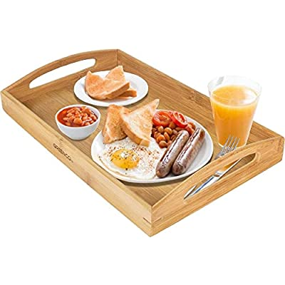Large Butler Bamboo Serving Tray