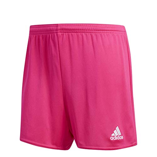 adidas Women's Parma 16 Shorts, Shock Pink/White, Large