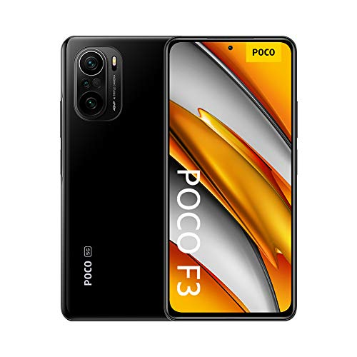 """Poco F3 - Smartphone 6+128GB, 6,67"""" 120Hz, Snapdragon 870, Cámara Triple de 48MP, 4520mAh, Negro Nocturno (Versión Global)"""