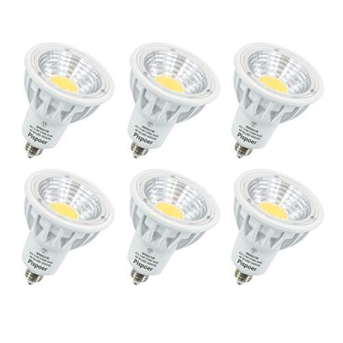 E11 LEDスポットライト 5.5W(50-60W形相当ハロゲン電球) 電球色2700K 高演色RA95 550LM 広角90度 非調光 ダトクトレール用LEDスポットライ 6個入り