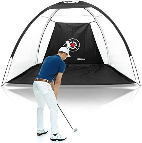 OFAY 10' X 7' Golf Hitting Net, Portable Practice Golf Nets W/Target Sheet & Carry Bag, Training Aids Practice Nets for Backyard Driving Range