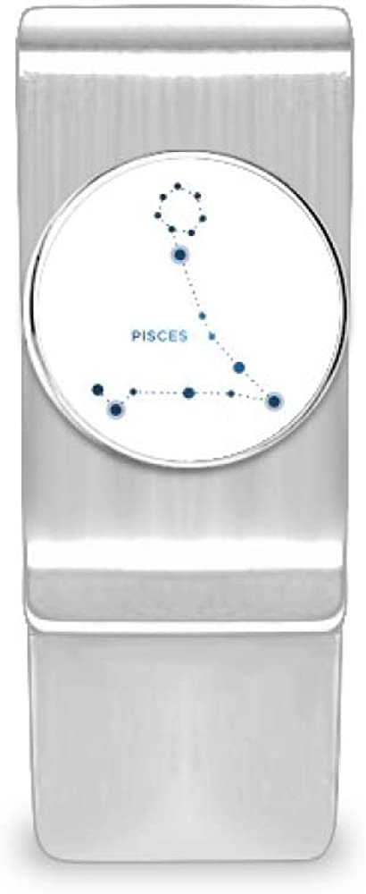 Pisces Constellation Sign Superior Zodiac Money Cash Special sale item Wallet Card Hol Clip