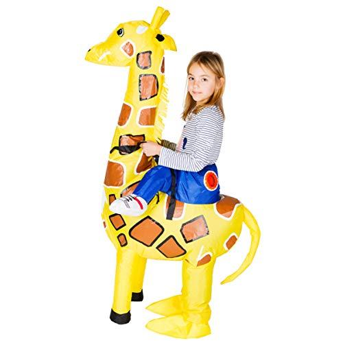 Bodysocks® Déguisement Girafe Gonflable Enfant