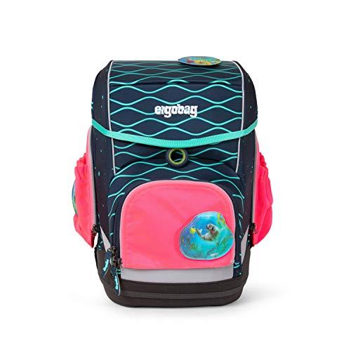 Ergobag Sicherheits-Set mit Seitentaschen 3-teilig, Pack/Cubo/Cubo Light, Pink