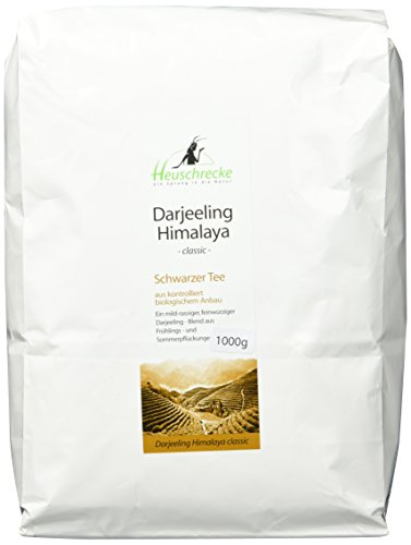 Heuschrecke Bio Tee Darjeeling Himalaya Classic , 1er Pack (1 x 1000 g)
